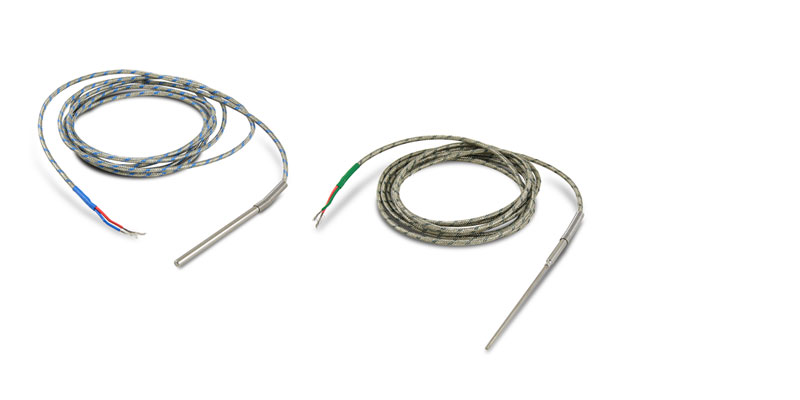 J and K thermocouples